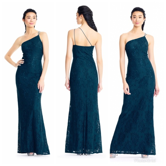 Adrianna Papell Dresses & Skirts - Adrianna Papell | One Shoulder | Lace Mermaid Gown